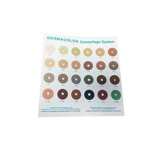 Charte de couleurs Dermacolor