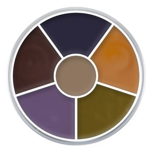 Bruise Cream Color Circle