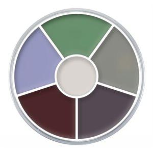 Creature Feature Cream Color Circle
