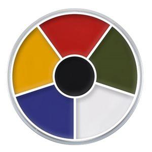 Multi-Color Cream Color circle