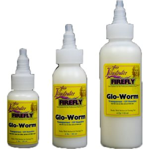 Glo-Worm Transparent UV Reactive