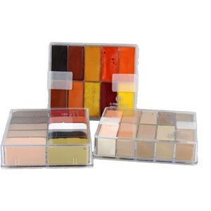 Fard Creme fondation - 10 colors