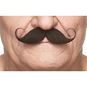 Moustache - Noir - 11.5 x 4cm